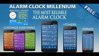 Alarm Clock + Timers/Stopwatch YouTube video