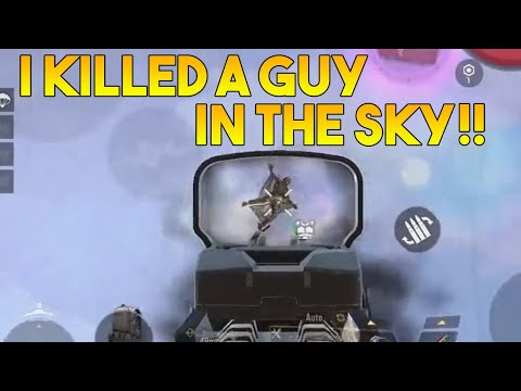 I KILLED A GUY IN THE SKY! | CALL OF DUTY