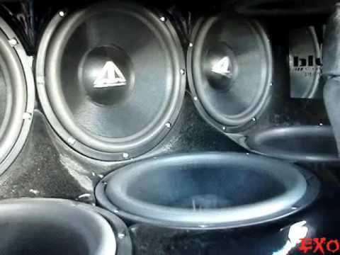 Crazy Stereo Systems w/ LOUD BASS Songs - Top Best 2010 SBN Car Audio Subwoofer Flex Demos