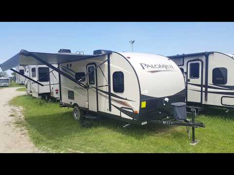 2018 Palomini 177BH Ultra Lite Travel Trailer with Bunkbeds @ Camp-Out RV in Stratford