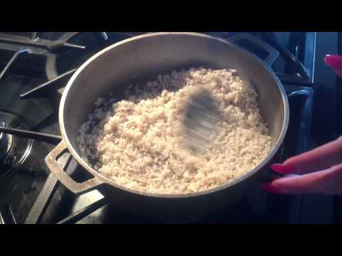 How To Make Puerto Rican Dish Arroz Blanco (White Rice)
