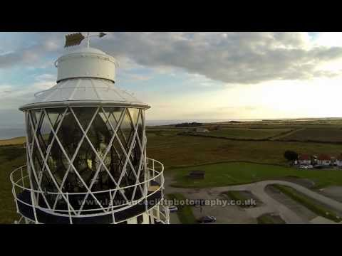 Flamborough Lighthouse Drone Video