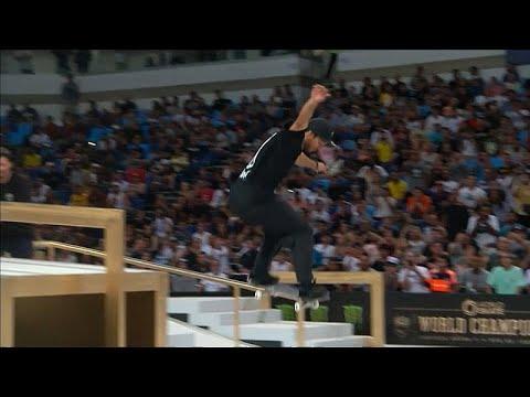 Skateboard Weltmeisterschaft in Rio de Janeiro (Stree ...