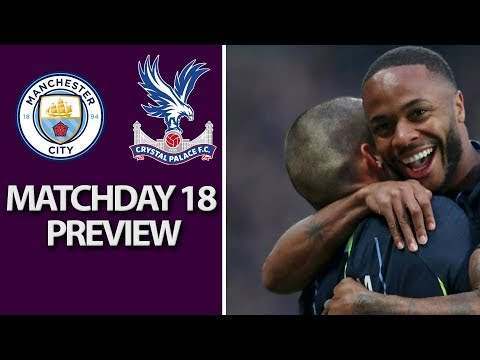 Video: Manchester City v. Crystal Palace | PREMIER LEAGUE MATCH PREVIEW | 12/22/18 | NBC Sports