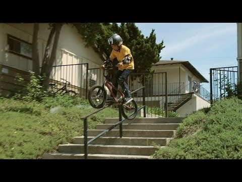 max - Max Vu is 10 years old and crankslides rails on street. BMX rules. Subscribe: http://bit.ly/1gYdZLu I've known Max for a few years now and despite being just 10 years old, he's been killing...