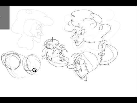Zeichnen Lernen Teil 2 Cartoon Köpfe zeichnen
