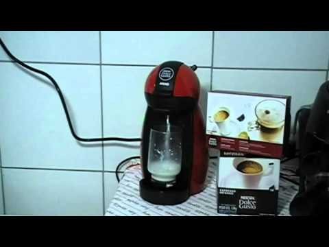 Making a Cappuccino using my Dolce Gusto Piccolo espresso machine
