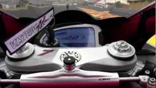 10. 2013 MV Agusta F4 R and F4 RR at Valencia - onboard and more
