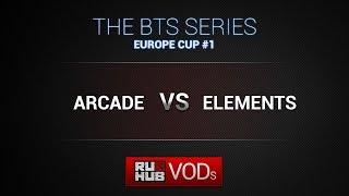 Arcade vs Elements, game 1