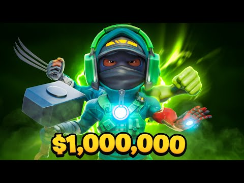 $1 MILLION MYTHICS ONLY CUP