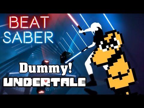 Beat Saber - Dummy! - Undertale (custom song) | FC