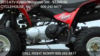6. 2013 ATV Kymco Mongoose 300  - for sale in Forked River , NJ