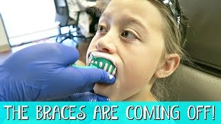 SHE'S GETTING HER BRACES OFF! | FAMILY VLOG