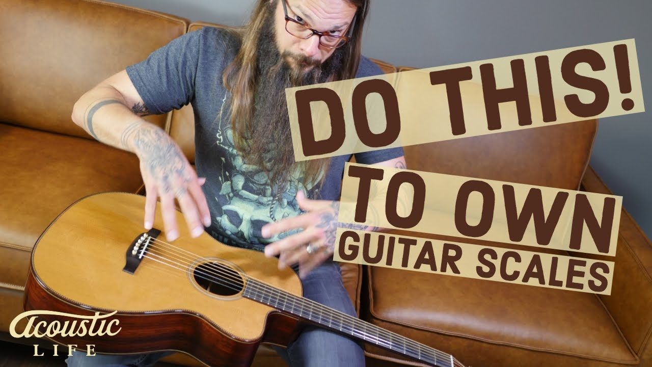 Own ANY Guitar Scale! (Use This Exercise)