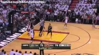 NBA Finals 2013 Game 7 Full Highlights - San Antonio Spurs vs. Miami Heat (June 20, 2013)