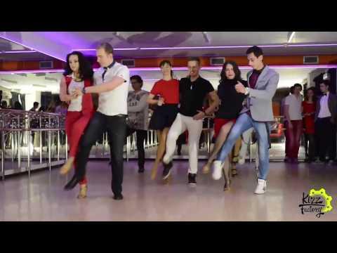 Танец на Предновогодней вечеринке в «KIZzone» (23.12.2016)