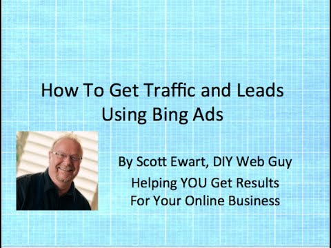 How To Get Traffic With Bing Ads