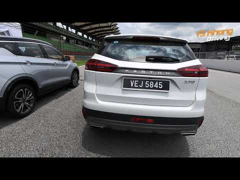 Proton X50 vs X70 - Side by Side, How do they Measure Up? | YS Khong Driving