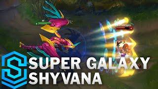 Chi tiết hình ảnh bộ trang phục mới Shyvana Siêu Nhân Thiên Hà (Super Galaxy Shyvana)