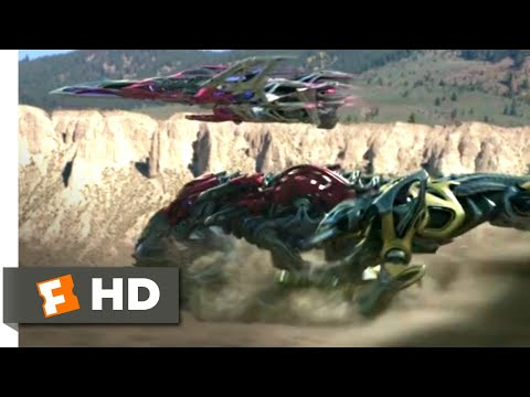 Power Rangers (2017) - Go, Go, Power Rangers! Scene (6/10)   Movieclips