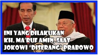Video KH. Ma'ruf Amin Pun Mulai Pasang Badan Untuk Jokowi Dari S3r4ng4n Prabowo MP3, 3GP, MP4, WEBM, AVI, FLV Agustus 2018
