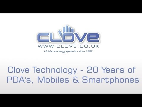 Clove Technology - 20 Years Of PDA's, Mobiles & Smartphones Mp3