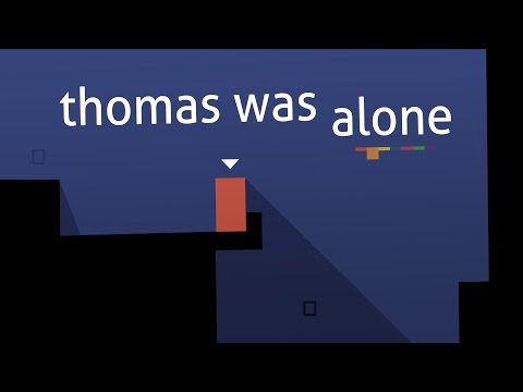 thomas - Download now on Android: http://www.bit.ly/ThomasGooglePlay Thomas Was Alone for mobile follows the gentle geometric adventures of a group of quirky quadrilaterals, with the controls lovingly...