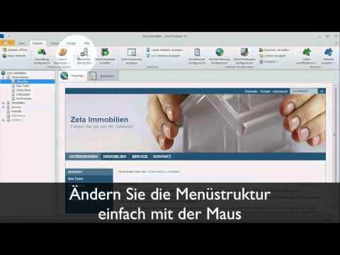 Kostenlose Website erstellen– professionell und schnell – ZP Desktop CMS