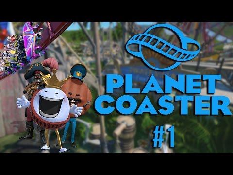 Planet Coaster | Vlastní zábavný park ! | #1 [FullHD/60.FPS]