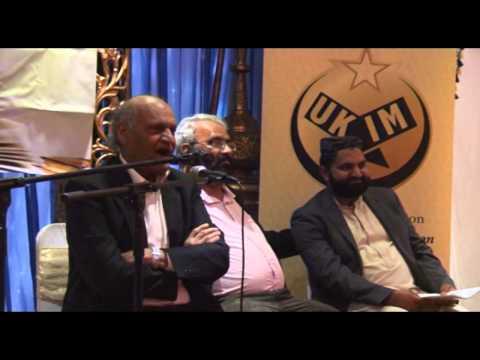 Prof. Anwar Masood in Birmingham 2014