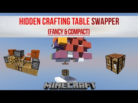 Crafting Table Swapper
