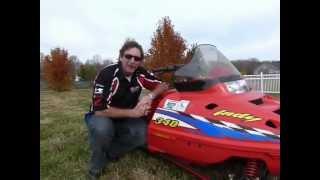 2. 2001 Polaris Indy 340 Stock #9-3647
