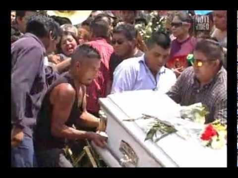 Dan último adiós a los dos niños de la Tenencia Morelos...