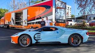 TAKING DELIVERY OF A NEW FORD GT! by Vehicle Virgins