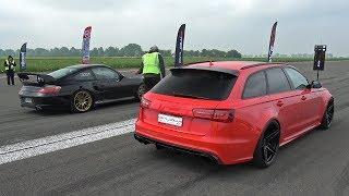 Download Lagu Audi RS6 Avant Milltek vs Porsche 996 Turbo Mp3