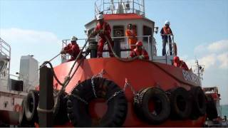 Video Loading of Tugboats in Singapore Part 2, with spectacular Aerial shots by Studio 8 Pte Ltd. MP3, 3GP, MP4, WEBM, AVI, FLV Agustus 2018