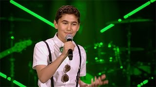 Arman, Nina & Jonathan - 'Galway Girl' | Battles | The Voice Kids | VTM