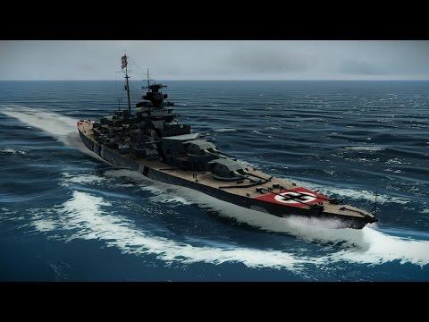 Эпичная Битва Линкоров Бисмарк и Худ ! Симулятор Подводной Лодки Silent Hunter 5 на ПК !