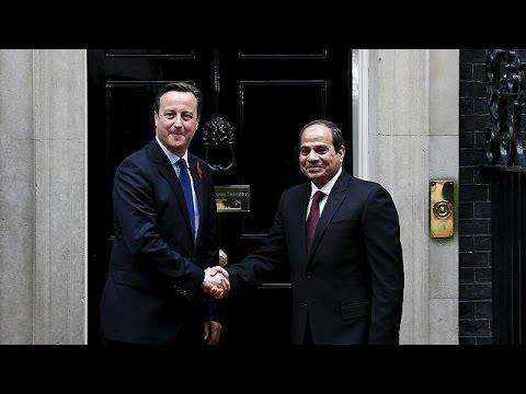 Μ. Βρετανία: Συνάντηση Αλ Σίσι – Ντέιβιντ Κάμερον