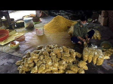 Bắt quả tang cơ sở trộn lưu huỳnh vào riềng xay để bán @ vcloz.com