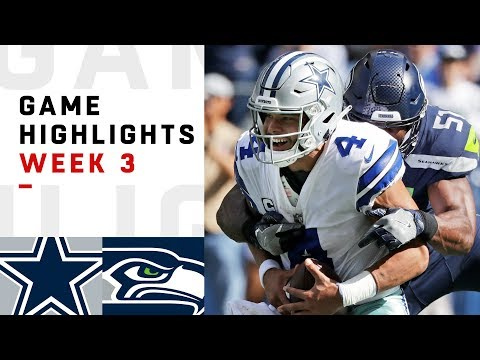 Cowboys vs. Seahawks Week 3 Highlights | NFL 2018 - Thời lượng: 10:43.