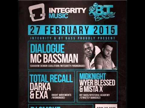 Dialogue MC Bassman Integrity Music BT Bass 27 2 2015