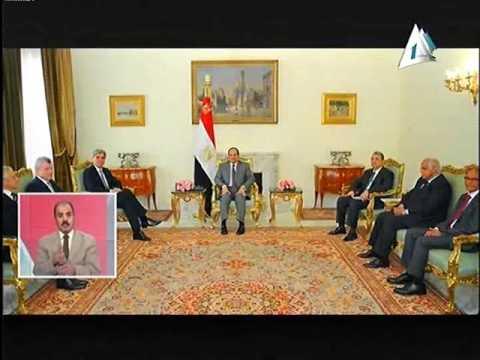 الرئيس السيسى يبحث تطوير قطاع النقل مع رئيس شركة سيمنس بحضور وزير النقل