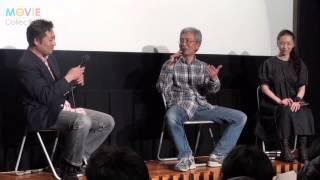 神田裕司監督、小中和哉監督、有森也実/『TOKYOてやんでぃ』トークイベント