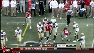 Jason Hendricks vs Ole Miss (2012 Bowl)