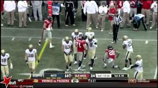 Jason Hendricks vs Ole Miss (2012 Bowl)