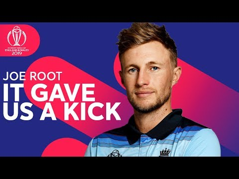 "Joe Root: ""It Gave Us a KICK!"" 