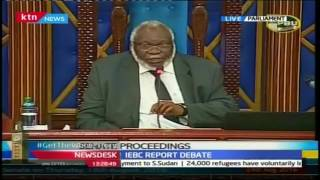 Senate Proceedings On IEBC Report
