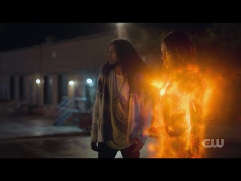 jennifer and Brandon against the A.S.A/ Black Lightning season 3 episode 10