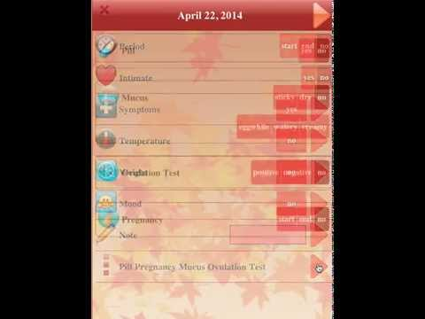 Video of Menstrual Cycle Tracker